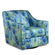 Tracy Porter Winslet Windflower Swivel Chair