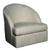 Bauhaus Wexford Lithograph Sand Swivel Arm Chair