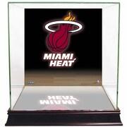 Steiner Sports NBA Logo Background Case; Miami Heat