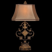 Fine Art Lamps Castile 36'' H Table Lamp with Bell Shade