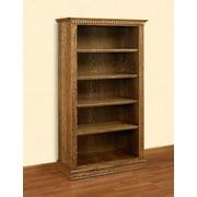 A&E Wood Designs Britania 72'' Standard Bookcase