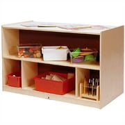 Steffy Toddler Double-Sided Storage Cabinet