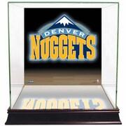 Steiner Sports NBA Logo Background Case; Denver Nuggets