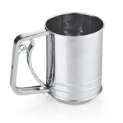 Cook N Home Stainless Steel 3-Cup Flour Sifter
