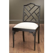 AA Importing Side Chair; Black