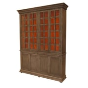 MOTI Furniture Belleview 8 Door Storage Cabinet; Warm