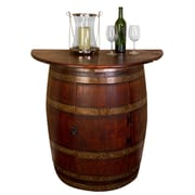 Napa East Collection Barrel Wall Cabinet
