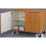 Stevens ID Systems Mobiles Divided Shelf Storage with Lock