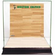Steiner Sports Basketball Court Background Case; Boston Celtics