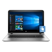 "HP® Envy 17-s030nr 17.3"" Notebook, LCD Touchscreen, Intel i7-6500U, 1TB HDD, 12GB RAM, Windows 10, Natural Silver"