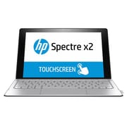 "HP® Spectre N5S20UA 12"" Tablet PC, LCD Touchscreen, Intel m3-6Y30, 128GB SSD, 4GB RAM, Windows 10, Natural Silver"