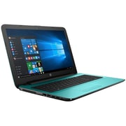 "HP® 15-ba085nr 15.6"" Notebook, LCD Touchscreen, AMD A8-7410 APU, 1TB HDD, 4GB RAM, Windows 10, Teal"