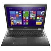 "Lenovo® Flex 3 1580 80R4 80R40004US 15.6"" Notebook, LCD, Intel Pentium 4405U, 500GB HDD, 4GB RAM, Windows 10, Black"