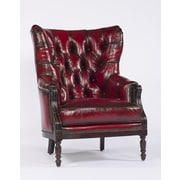 Paul Robert Home Terrain Colby Leather Wingback Chair