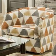 Bauhaus Linwood Swivel Arm Chair