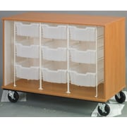 Stevens ID Systems Mobiles Open and 9 Trays