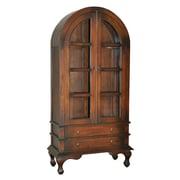 Casual Elements Josephine Cabinet; Medium Brown