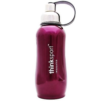 Thinksport Stainless Steel Sports Bottle - Purple - 25 oz 2399104