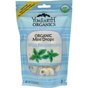 Yummy Earth Organic Candy Drops Wild Peppermint - 3.3 oz - Case of 6