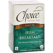 Choice Organic Teas Irish Breakfast Tea - 16 Tea Bags - Case of 6