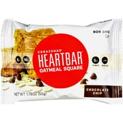 Corazonas Oatmeal Squares - Chocolate Chip - Case of 12 - 1.76 oz