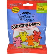 Yummy Earth Organic Gummy Bears - Case of 12 - 2.5 oz