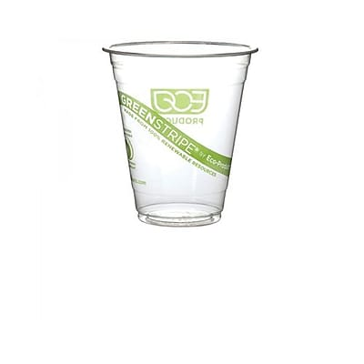 Eco-Products 20 oz GreenStripe Cold Cup - Case of 1000 2399179