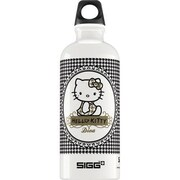 Sigg Water Bottle - Hello Kitty Pepita - .6 Liters