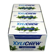 Xylichew Gum - Peppermint - Counter Display - 12 Pieces - Case of 24