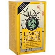Triple Leaf Tea - Lemon Ginger - 20 Tea Bags - Case of 6