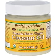 Healthy Origins Coconut Oil - Organic - Extra Virgin - 16 oz