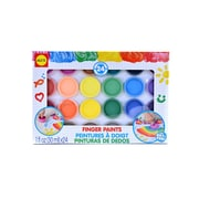 Alex Toys 24 Finger Paints Each (421F)