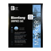 Bienfang Graphics 360 100% Rag Translucent Marker Paper 11 In. X 14 In. Pad Of 50 (316130)
