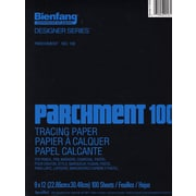 Bienfang Parchment 100 Tracing Paper 9 In. X 12 In. Pad Of 100 Sheets (240221)
