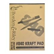 Borden  And  Riley #840 60 Lb Kraft Paper 18 In. X 24 In. 50 Sheets (840P182450)
