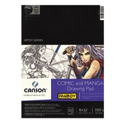 Canson Fanboy Comic And Manga Drawing Pad 9 In. X 12 In. (100510882)