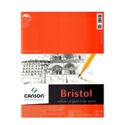 Canson Foundation Bristol Pads Vellum 11 In. X 14 In. [Pack Of 2] (2PK-100511018)
