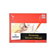 Canson Foundation Drawing Pad 14 In. X 17 In. [Pack Of 2] (2PK-100510980)