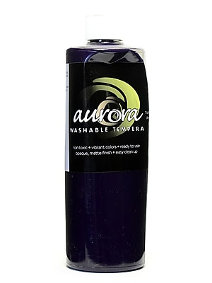Chroma Inc. Aurora Washable Tempera Purple [Pack Of 4] (4PK-11809) 2137356