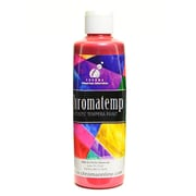 Chroma Inc. Chromatemp Pearlescent Tempera Paint Red 250 Ml [Pack Of 4] (4PK-2230)