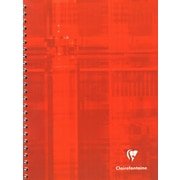 Clairefontaine Wirebound Multiple Subject Graph Paper Notebooks 60 Sheets With 12 Tabs 6 3/4 In. X 8 5/8 In. (8959)
