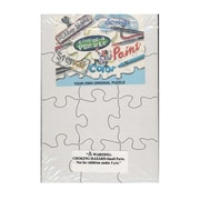 Compoz-A-Puzzle Blank Puzzles 5 1/2 In. X 8 In. 12 Pieces Each Pack Of 8 (96211)