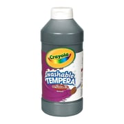 Crayola Artista Ii Liquid Tempera Paint Black 16 Oz. [Pack Of 4] (4PK-54-3115-051)