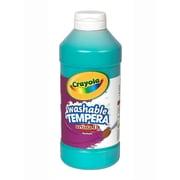 Crayola Artista Ii Liquid Tempera Paint Turquoise 16 Oz. [Pack Of 4] (4PK-54-3115-048)