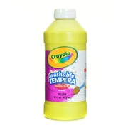 Crayola Artista Ii Liquid Tempera Paint Yellow 16 Oz. [Pack Of 4] (4PK-54-3115-034)