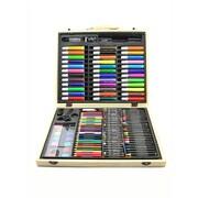Darice Artyfacts Deluxe Art Set In Wood Case Each (1103-10)