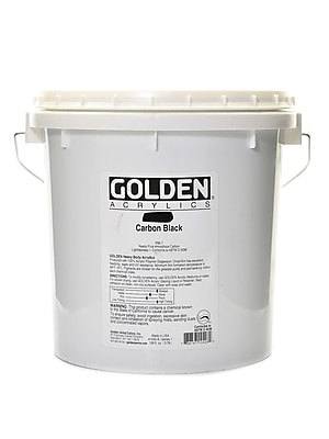 Golden Heavy Body Acrylics Carbon Black 128 Oz. (1040-8) 2168636