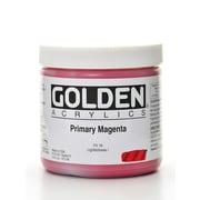 Golden Heavy Body Acrylics Primary Magenta 16 Oz. (1510-6)