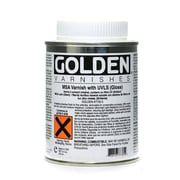 Golden Msa (Mineral Spirit Acrylic) Varnish With Uvls Gloss 8 Oz. (7730-5)