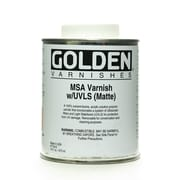 Golden Msa (Mineral Spirit Acrylic) Varnish With Uvls Matte 16 Oz. (7740-6)